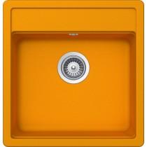 Chiuveta Granit Schock Nemo N-100S Portocaliu Cristalite 490 x 510 mm