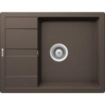Chiuveta Granit Schock Ronda D-100L Mocha Cristalite 650 x 500 mm