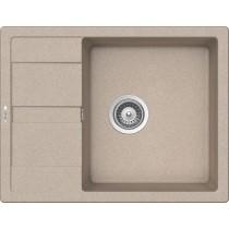 Chiuveta Granit Schock Ronda D-100L Sabbia Cristalite 650 x 500 mm