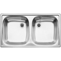 Chiuveta Inox Blanco Top ED 8x4 780 x 435 mm