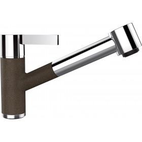 Baterie Granit Schock Dornbracht Eno cu Dus Extractibil Bronze Cristadur