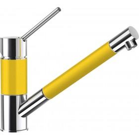 Baterie Granit Schock SC-50 cu Dus Extractibil Galben