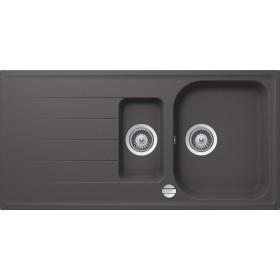 Chiuveta Granit Schock Viola D-150 Basalt Cristalite 1000 x 500 mm cu Sifon Automat