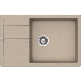 Chiuveta Granit Schock Ronda D-100XL Sabbia Cristalite 780 x 500 mm