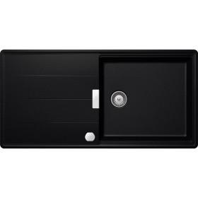 Chiuveta Granit Schock Tia D-100L Magma Cristadur 1000 x 500 mm cu Sifon Automat