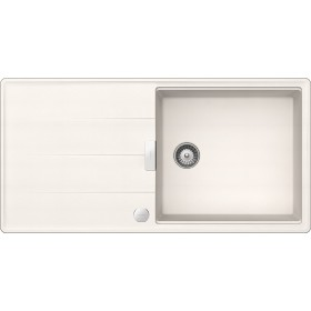 Chiuveta Granit Schock Tia D-100L Polaris Cristadur 1000 x 500 mm cu Sifon Automat