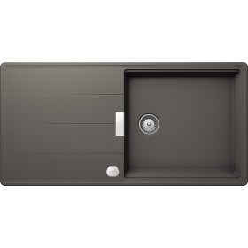 Chiuveta Granit Schock Tia D-100L Silverstone Cristadur 1000 x 500 mm cu Sifon Automat