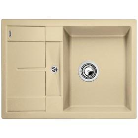 chiuveta granit blanco metra 45 s compact alb 680 x 500 mm. Black Bedroom Furniture Sets. Home Design Ideas