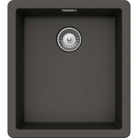 Chiuveta Granit Schock Brooklyn N-100S Asphalt Cristalite 406 x 456 mm
