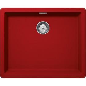 Chiuveta Granit Schock Greenwich N-100L Rosu Cristadur 556 x 456 mm