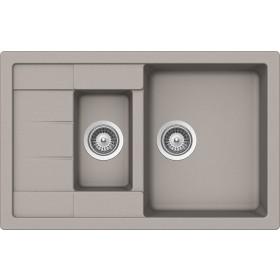 Chiuveta Granit Schock Manhattan D-150S Beton Cristalite 780 x 500 mm