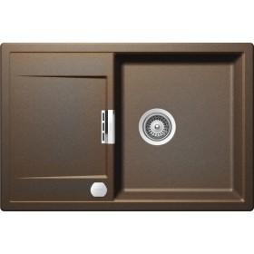 Chiuveta Granit Schock Mono D-100 Vintage Cristadur 765 x 510 mm cu Sifon Automat