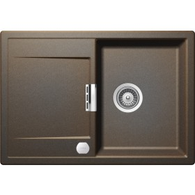 Chiuveta Granit Schock Mono D-100S Vintage Cristadur 740 x 510 mm cu Sifon Automat