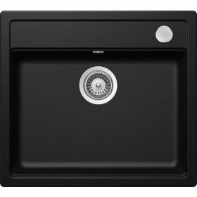 Chiuveta Granit Schock Mono N-100 Magma Cristadur 570 x 510 mm cu Sifon Automat