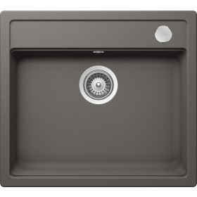 Chiuveta Granit Schock Mono N-100 Silverstone Cristadur 570 x 510 mm cu Sifon Automat