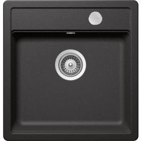 Chiuveta Granit Schock Mono N-100S Stone Cristadur 490 x 510 mm cu Sifon Automat