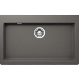 Chiuveta Granit Schock Signus N-100XL Silverstone Cristadur 790 x 500 mm