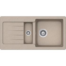 Chiuveta Granit Schock Typos D-150S Sabbia 860 x 435 mm