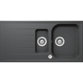 Chiuveta Granit Schock Viola D-150 Inox Cristalite 1000 x 500 mm cu Sifon Automat