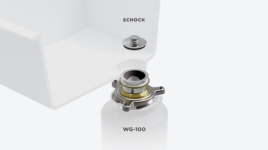 WG-100 - Racordul ideal pentru sistemul de scurgere Perfect Drain