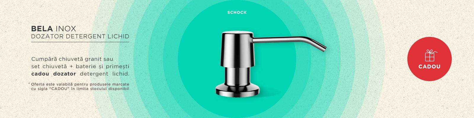 CADOU! - Dozator Detergent Lichid Schock Bela Inox